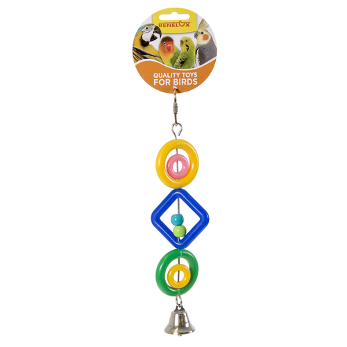 PLASTIC PENDANT WITH BELL