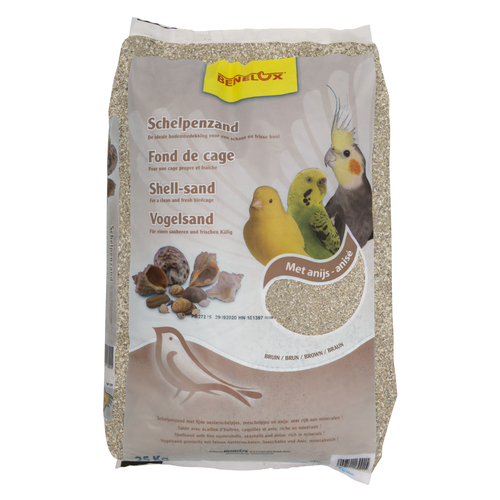 BROWN SHELL SAND 25 KG