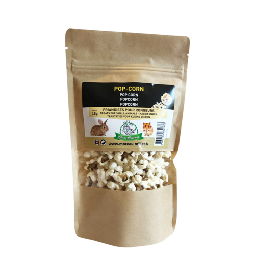 POPCORN TREATS FOR SMALL ANIMALS 15GR